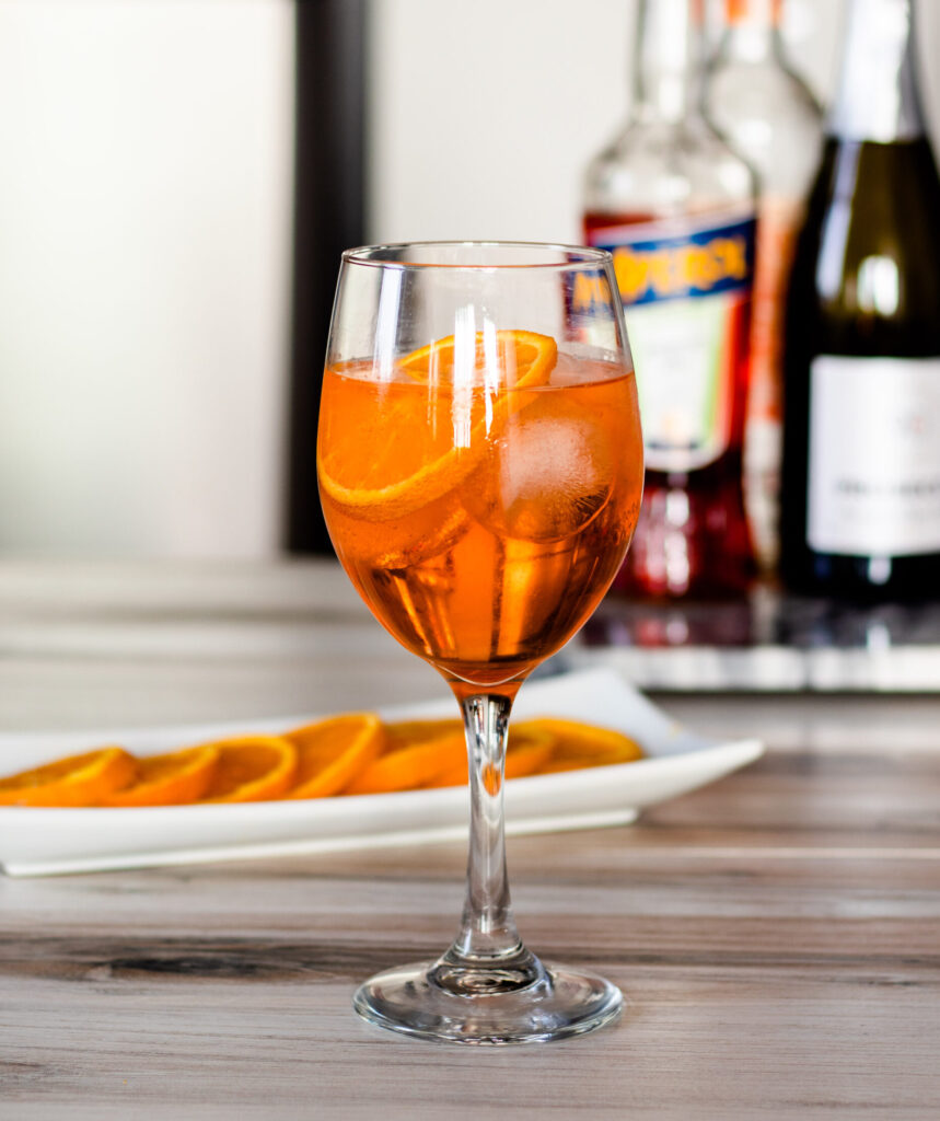 Boozy Aperol Spritz by Diverse Dinners