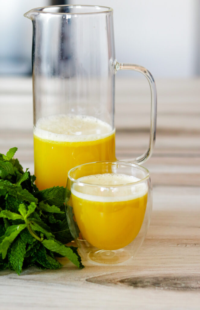 Pineapple Mint Juice by Diverse Dinners