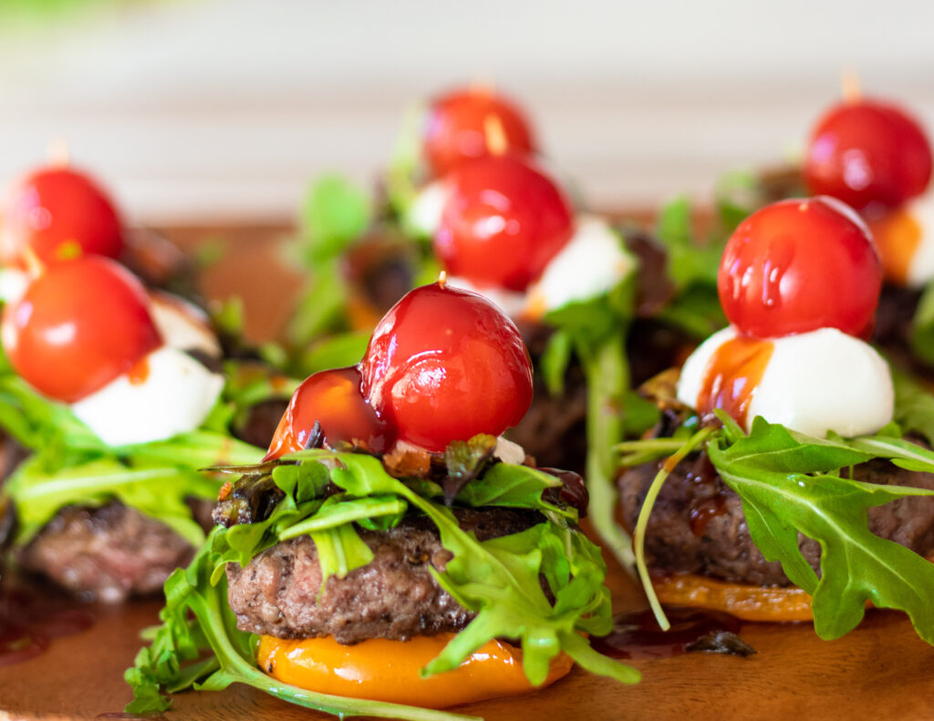 Sweet Pepper Bunless Sliders by Diverse Dinners