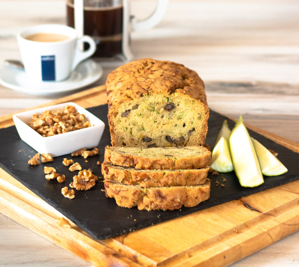 Zucchini Bread with Walnuts by Diverse Dinners