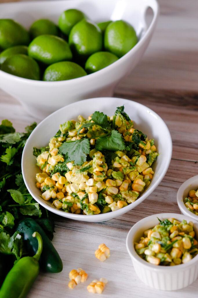 Corn Avocado Salsa by Diverse Dinners