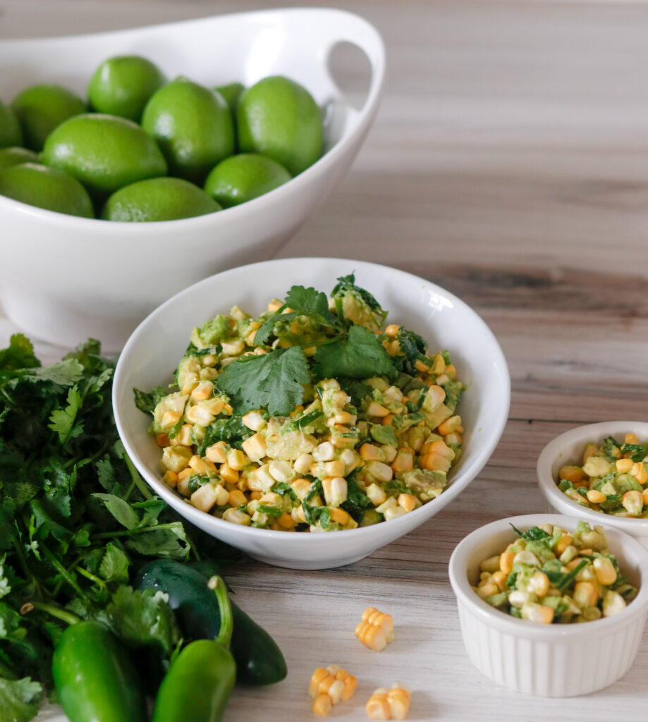 Corn Avocado Salsa by Diverse Dinners