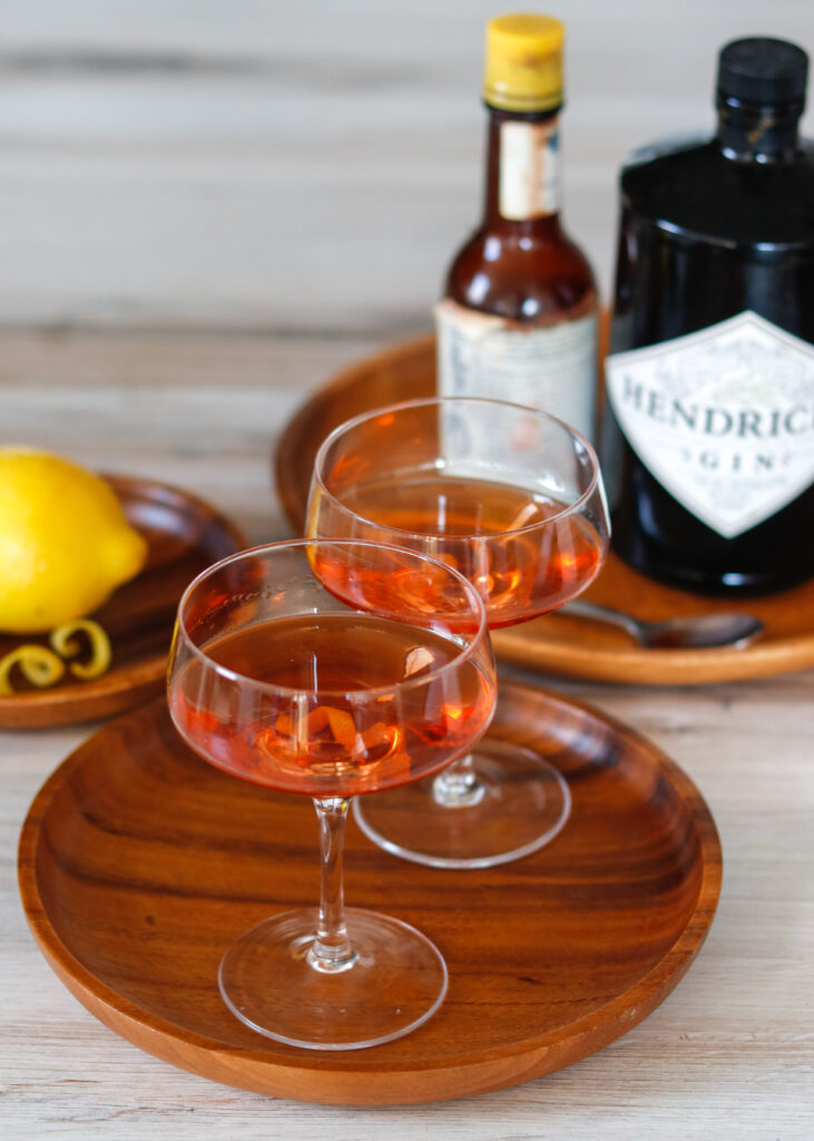 Pink Gin by Diverse Dinners