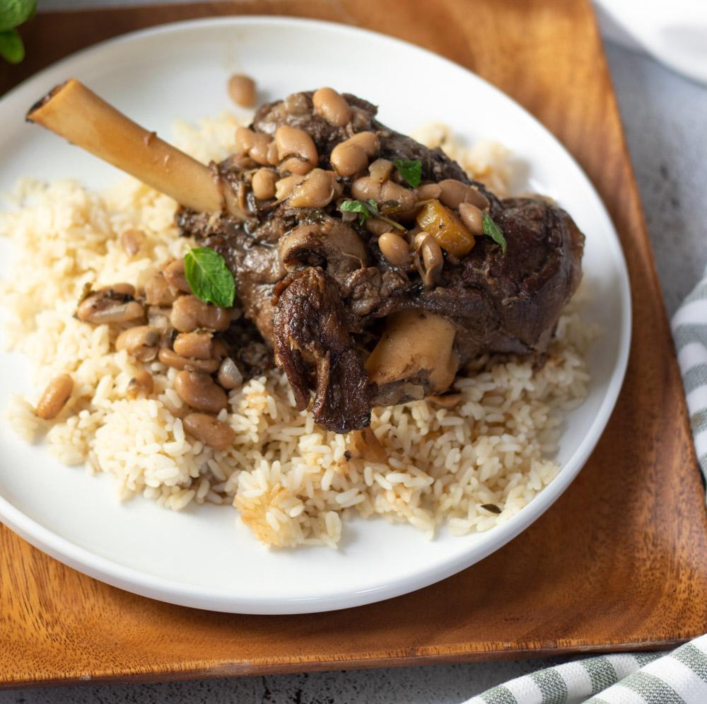 Mediterranean Lamb Shanks by Diverse Dinners
