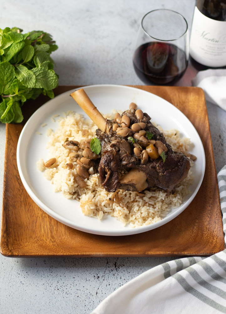Mediterranean Lamb Shanks by Diverse Dinners