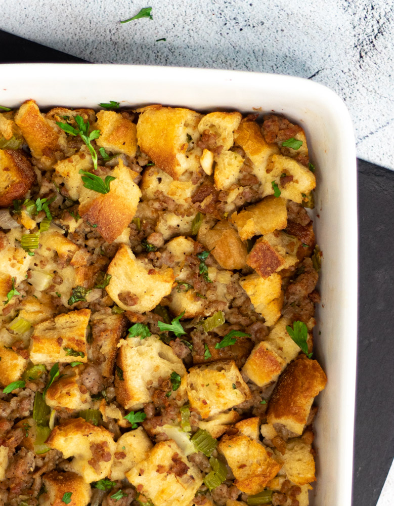 Pork and Herb Stuffing by Diverse Dinners